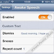 Awake Speech 1.0.1-1 Latest Cydia Tweak with Fixed Icon Appearance ~ iPhone Family World - iPhone Family | iPod Touch | iPad | Cydia | Apps