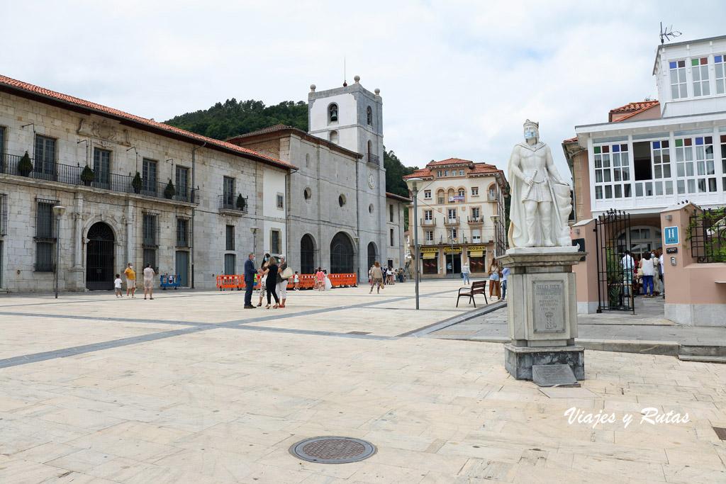 Plaza Sabino Moutas de Pravia