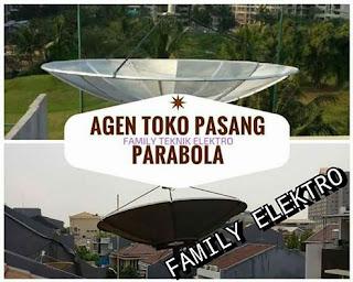 Agen Pasang Parabola Rawa Mekar Jaya Serpong Tangerang Selatan
