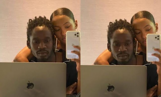 Mr. Eazi Gifted A New Laptop After Being Robbed In Ghana