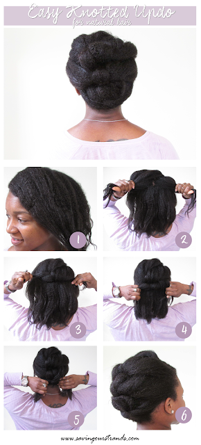 Easy Updo Pictorial