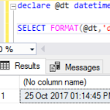 SQL Tips: Demystifying FORMAT behavior in Datetime vs Time Values