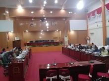 Pergeseran Anggaran, Pemkot Tual Gelar Rapat Bersama Banggar DPRD