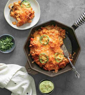 Easy Chicken Enchilada Skillet recipe