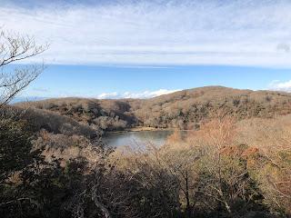 見晴台から見る八丁池