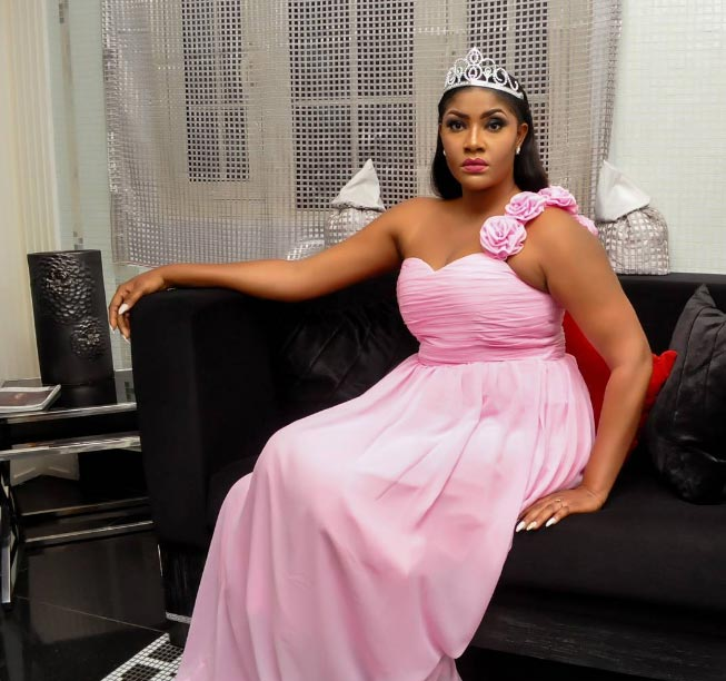 Angela Okorie is a princess in photoshoot for her birthday