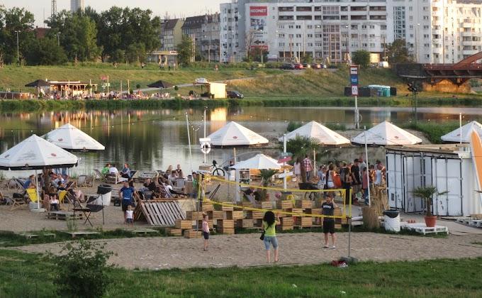 Z biegiem Odry   Wrocław   Plaże i bulwary
