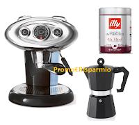 Logo Illy Lovers : come vincere Macchina Iperespresso X7.1 oppure Moka e 23 barattoli caffè