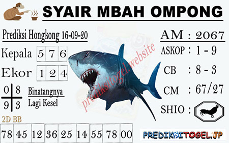 Syair Mbah Ompong HK Rabu