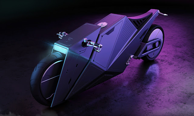 Hyper Cyber Bike - 3Dmenth Studio