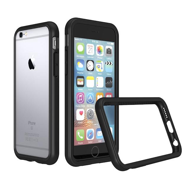 RhinoShield [CrashGuard] iPhone 8Bumper Case [11 Ft Drop Tested].