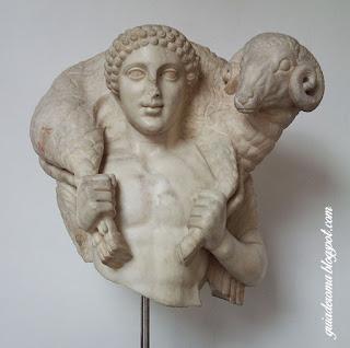 Bom Pastor grego, Museu Barraco de ROma