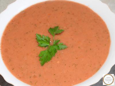 Supa de legume crude reteta,