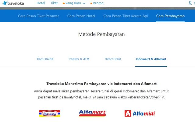 Pilihan pembayaran di Traveloka banyak dan lengkap