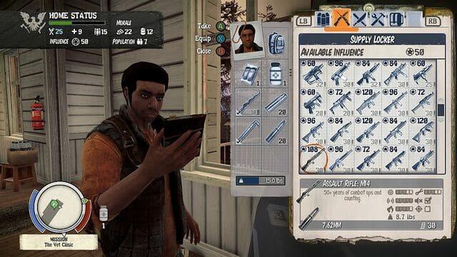 State of Decay عبارة عن لعبة فيديو رعب البقاء على قيد الحياة من المغامرة والمغامرة تم تطويرها بواسطة Undead Labs ونشرتها Microsoft Studios. إنه يركز على كيفية مواجهة مهارات القيادة للاعب ضد هجمة المشاكل ، مثل تناقص موارد البقاء ، وثقة المجموعة والمعنويات ، وإبادة الزومبي ، والدفاعات الأساسية ، وحياة الناس. تجمع اللعبة بين عناصر الرماة والتسلل ولعب الأدوار والألعاب الإستراتيجية وتتحدى اللعبة اللاعبين من أجل البقاء من خلال استكشاف الكسح ومحاربة الموتى الأحياء. تم إصداره لـ Xbox 360 في 5 يونيو 2013 وقوبل بمراجعات إيجابية. تم إصدار إصدار Microsoft Windows في 20 سبتمبر 2013 عبر Steam Early Access ، [7] مع إصدار تبعه في 5 نوفمبر 2013. تم إصدار نسخة معاد تسميتها إصدار One-One Survival Edition في 28 أبريل 2015 لـ Microsoft Windows و Xbox One مع مراجعات مختلطة. تم الإعلان عن State of Decay 2 في Xbox E3 2016. أدخلت اللعبة لعبة تعاونية متعددة اللاعبين. تم إصداره في 22 مايو 2018.