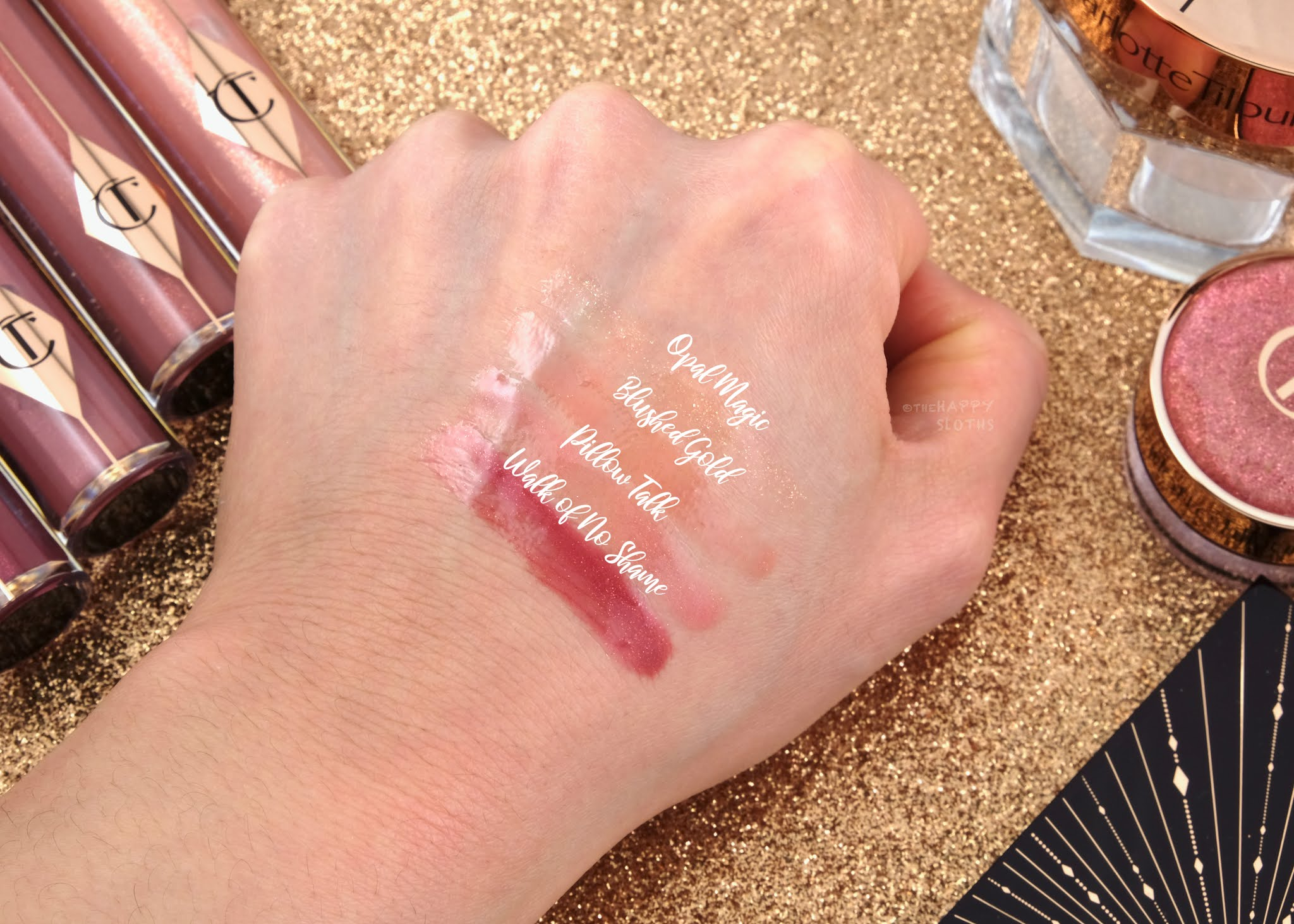 Charlotte Tilbury | Holiday 2020 Charlotte's Jewel Lips Dazzling Diamond Gloss: Review and Swatches