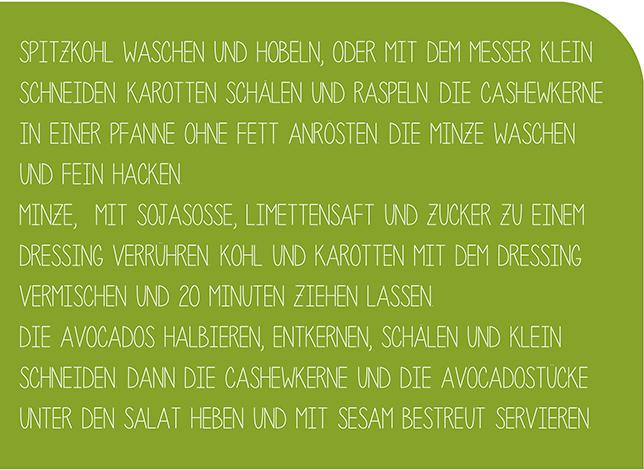 Ynas Design Blog, Kohlsalat, Salat, Rezept