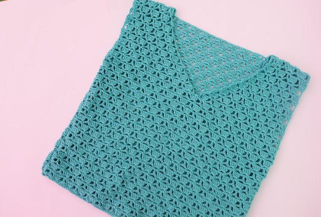5 -Imagen Crochet Blusa de mujer a crochet y ganchillo parte 1 por Majovel Crochet