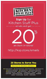 Kitchen stuff plus flyer valid March 5 - 11, 2018