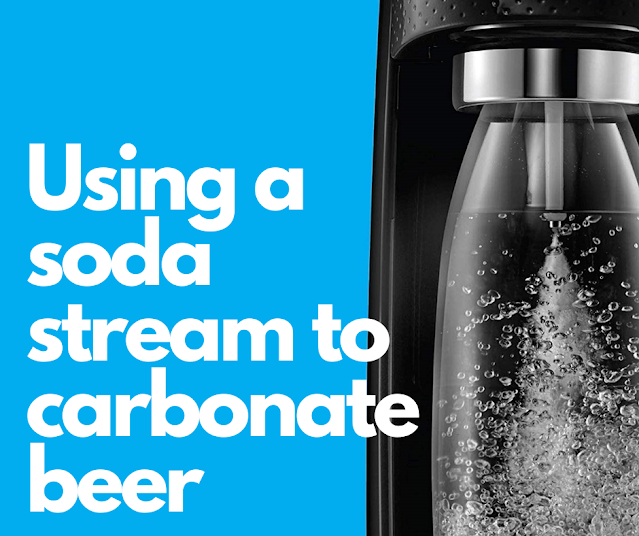how to carbonate beer with a soda maker