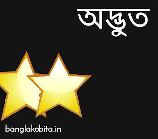 বাংলা কবিতা অদ্ভুত
