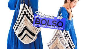 Patrones de bolso crochet muy original | con instrucciones para tejerlo