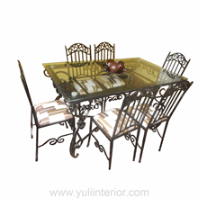 Wrought Iron Dining Set in Port Harcourt, Nigeria