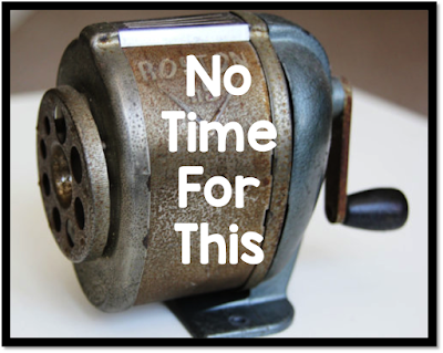 old fashion classroom pencil sharpener