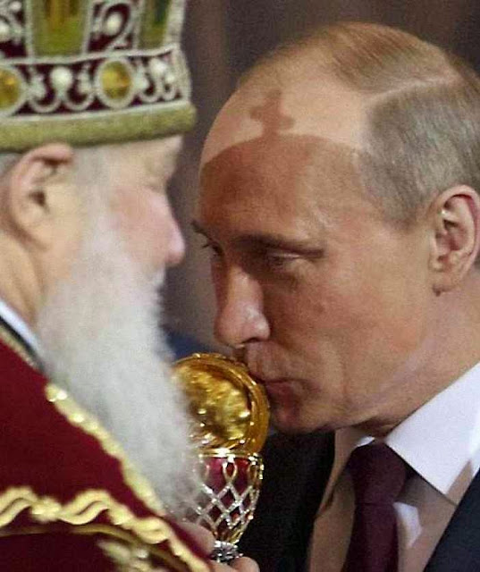 Explodida a Igreja Católica, só ficaria o Patriarcado de Moscou