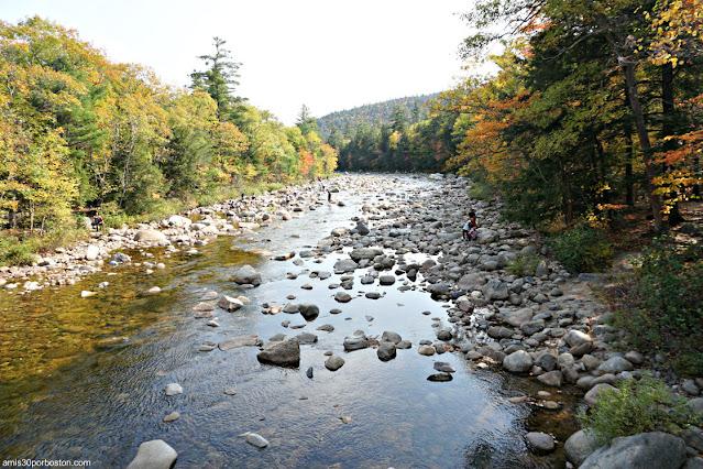 Swift River en Albany, New Hampshire