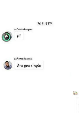 Girl exposes Uche Maduagwu for sliding into her DM