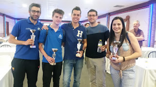 Crónica. III Campeonato Regional Ajedrez Blitz Murcia 2018