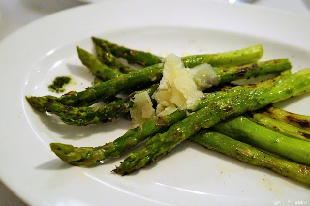 Grilled Asparagus at Marliave in Boston