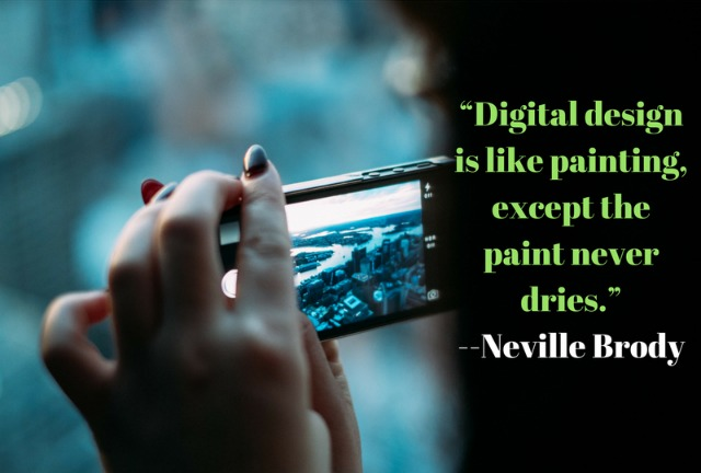 Digital design quote