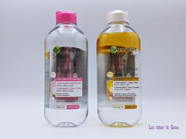 Garnier Skin Active Agua Micelar Gel limpieza facial skincare cuidado facial belleza beauty desmaquillante
