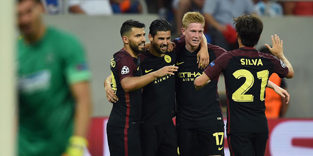 Manchester City vs Steau Bucharest