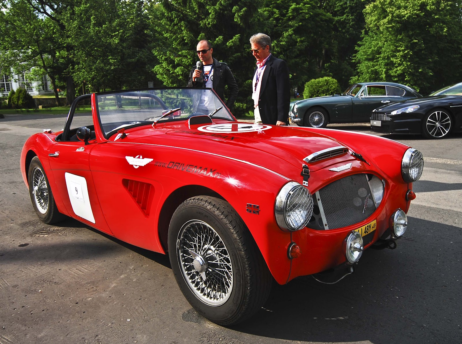 W-wa Jeziorki: Classic British cars - Jabłonna