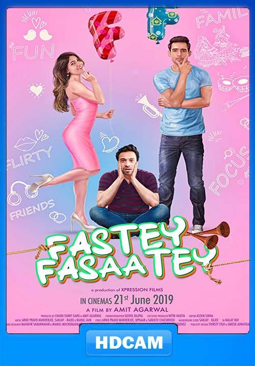 Fastey Fasaatey 2019 Hindi PreDVDRip 720p x264 | 480p 300MB | 100MB HEVC