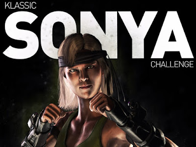 Sonya Blade Klassica - Mortal Kombat X MKX