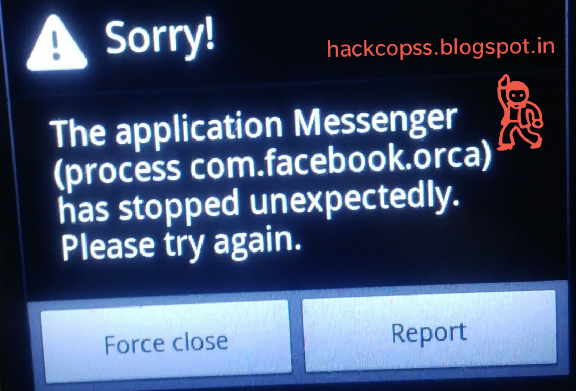 Hackcopss How To Fix Process Com Facebook Orca Has