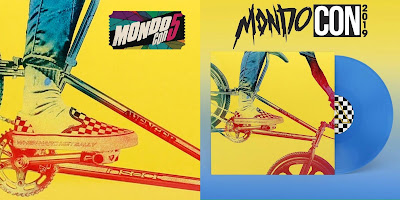 """MondoCon 2019 Exclusive D.A.L.I """"When Haro Met Sally"""" Blue Vinyl Edition Repress by Deadly Avenger x Burning Witch Records"""