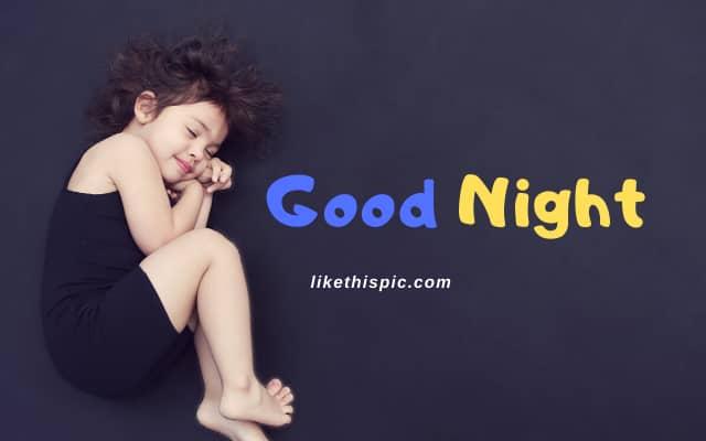Goodnight Image of Baby