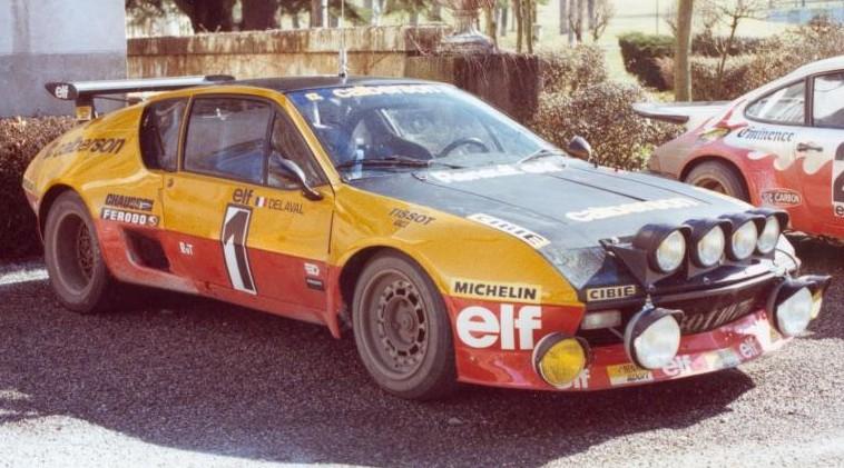 renault alpine a310 v6 group 4 1977 racing cars. Black Bedroom Furniture Sets. Home Design Ideas