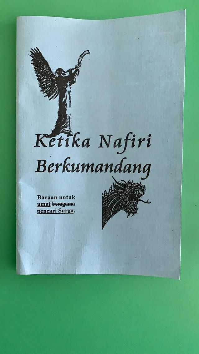 Pedagang di Aceh Barat Geger Ada OTK Sebar Buku dan Selebaran Aliran Sesat