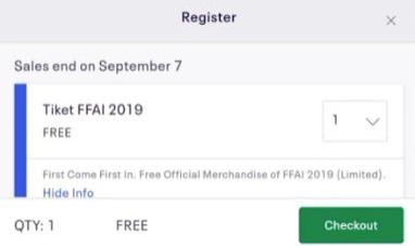 Kode Redeem FFAI 1 September 2019, Ketahui Disini!