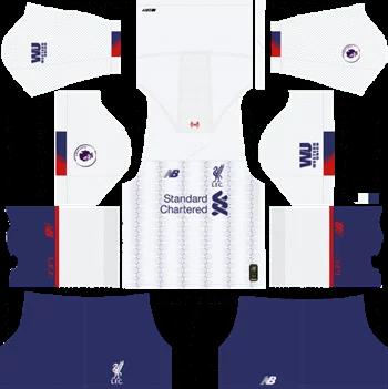 Download Kit DLS Liverpool Away 2019 - 2020