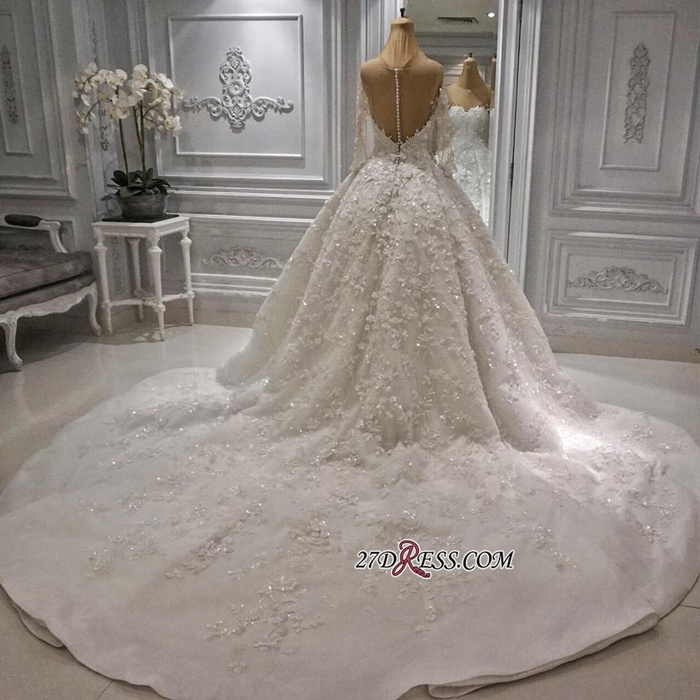 https://www.27dress.com/p/charming-long-sleeve-lace-appliques-ball-gown-wedding-dress-108839.html