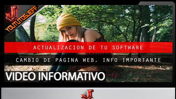 Cambio temporal de web | Importante
