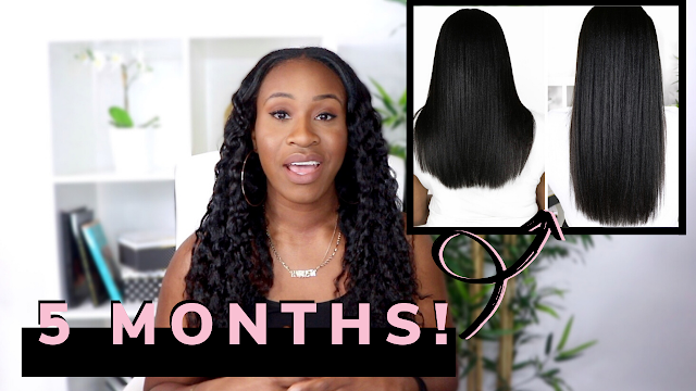 How I Grew My Relaxed Hair & Retained Length in 5 Months! | www.HairliciousInc.com