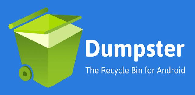 أفضل تطبيق لإسترجاع الملفات التي قمت بحذفها عن طريق الخطأ Dumpster